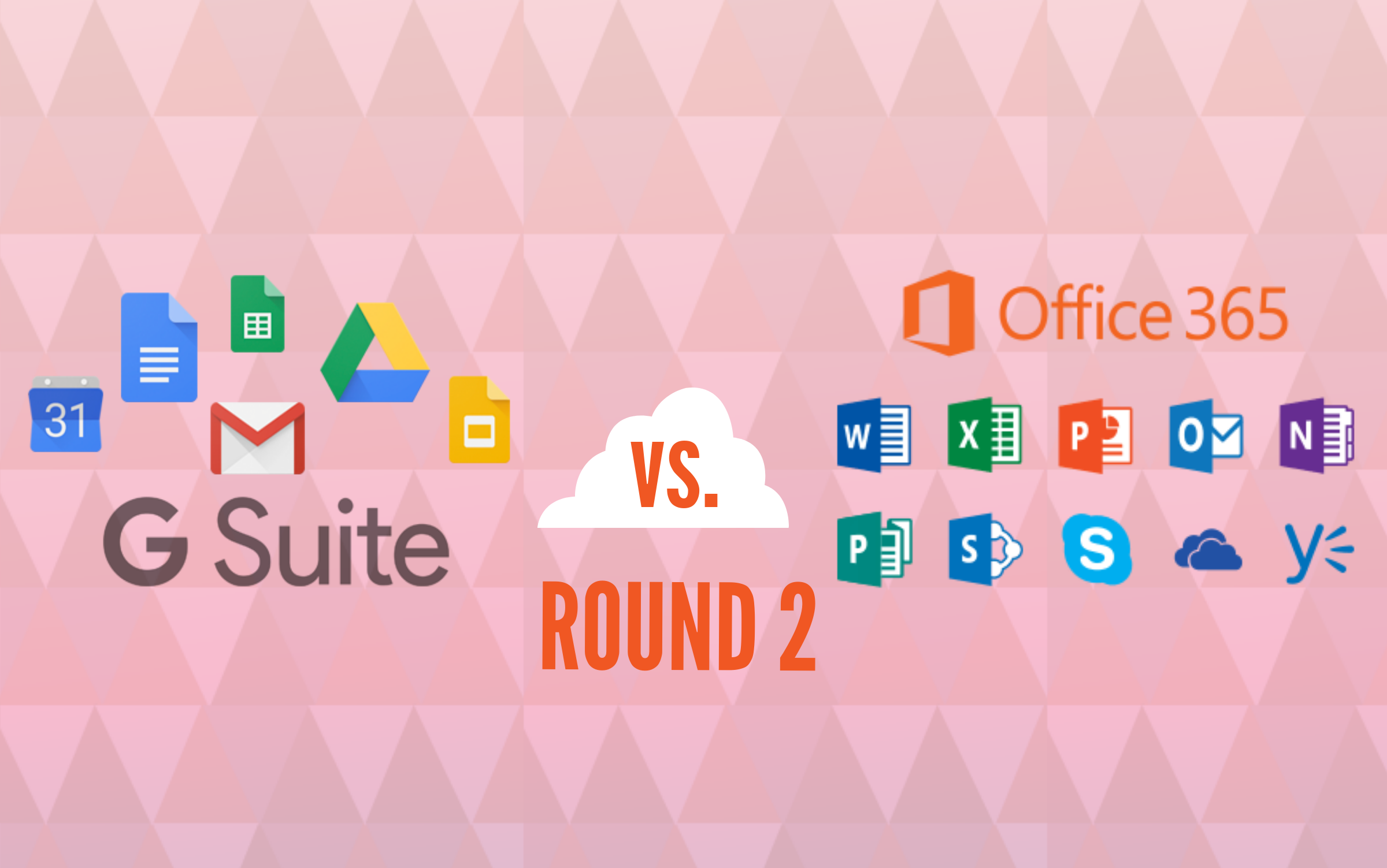 G Suite vs. Office 365: The features in-depth (Infographic)