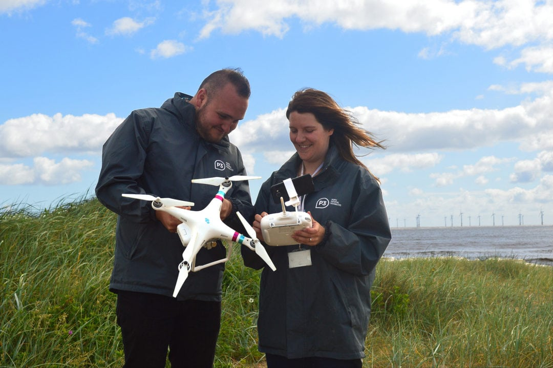 Homeless charity uses drones to find rural rough sleepers