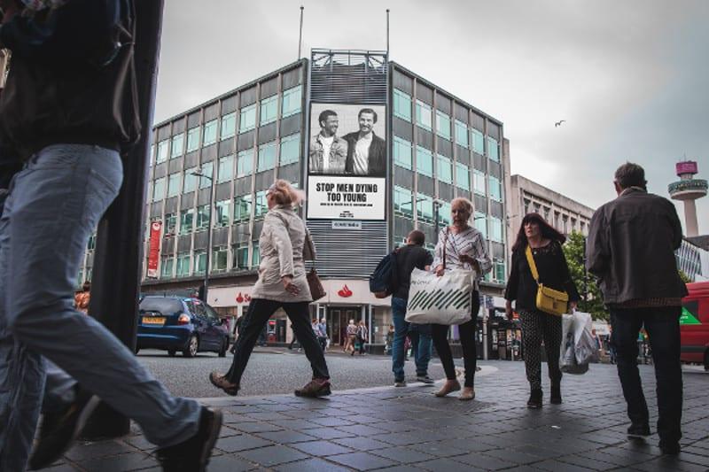 Outdoor digital advertising push to mark Movember