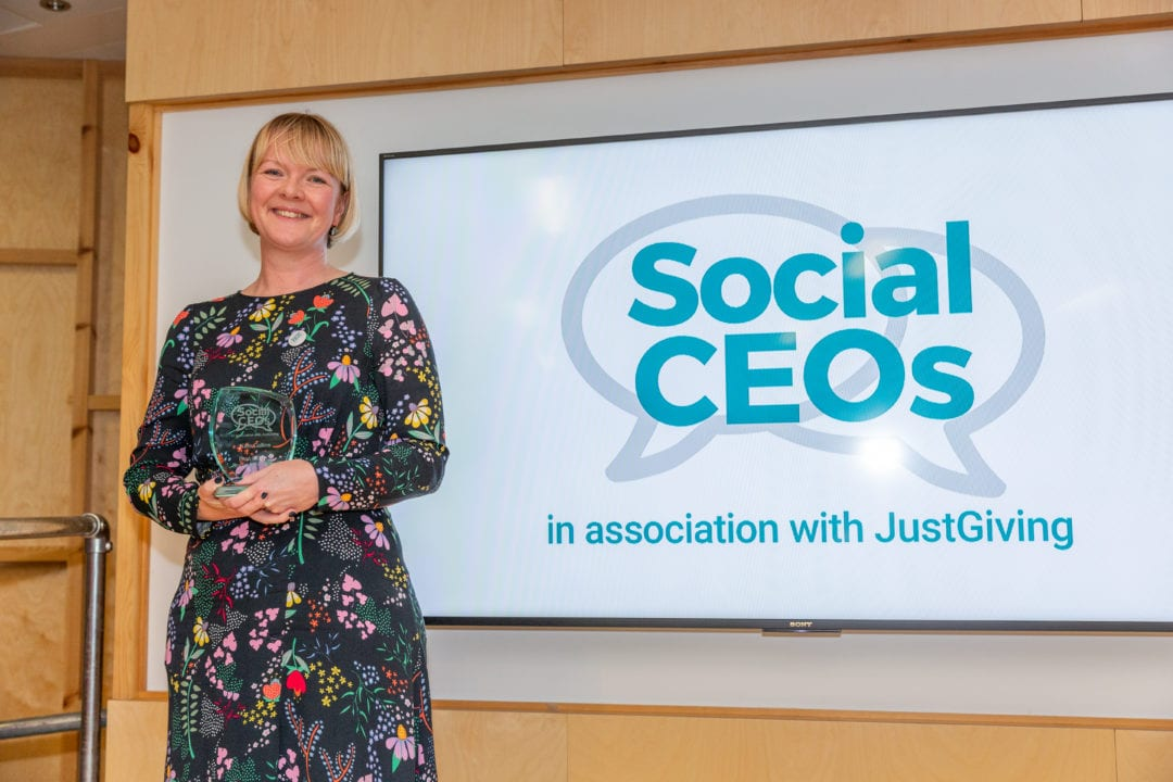 Teenage Cancer Trust head wins Social CEOs award