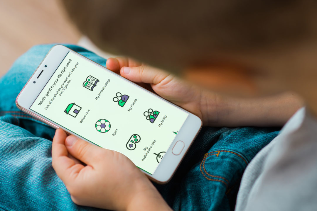 Charity uses app to help children in care express their feelings