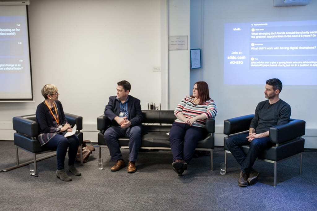 Digital leaders get real about charity digital change - video