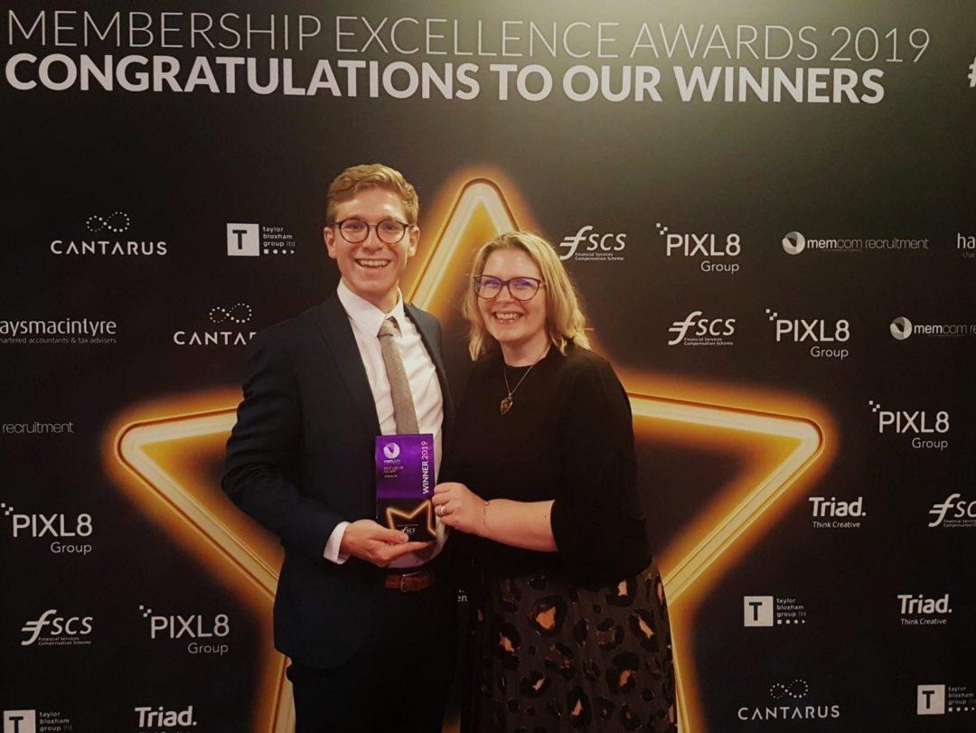 Coeliac UK app wins leadership award