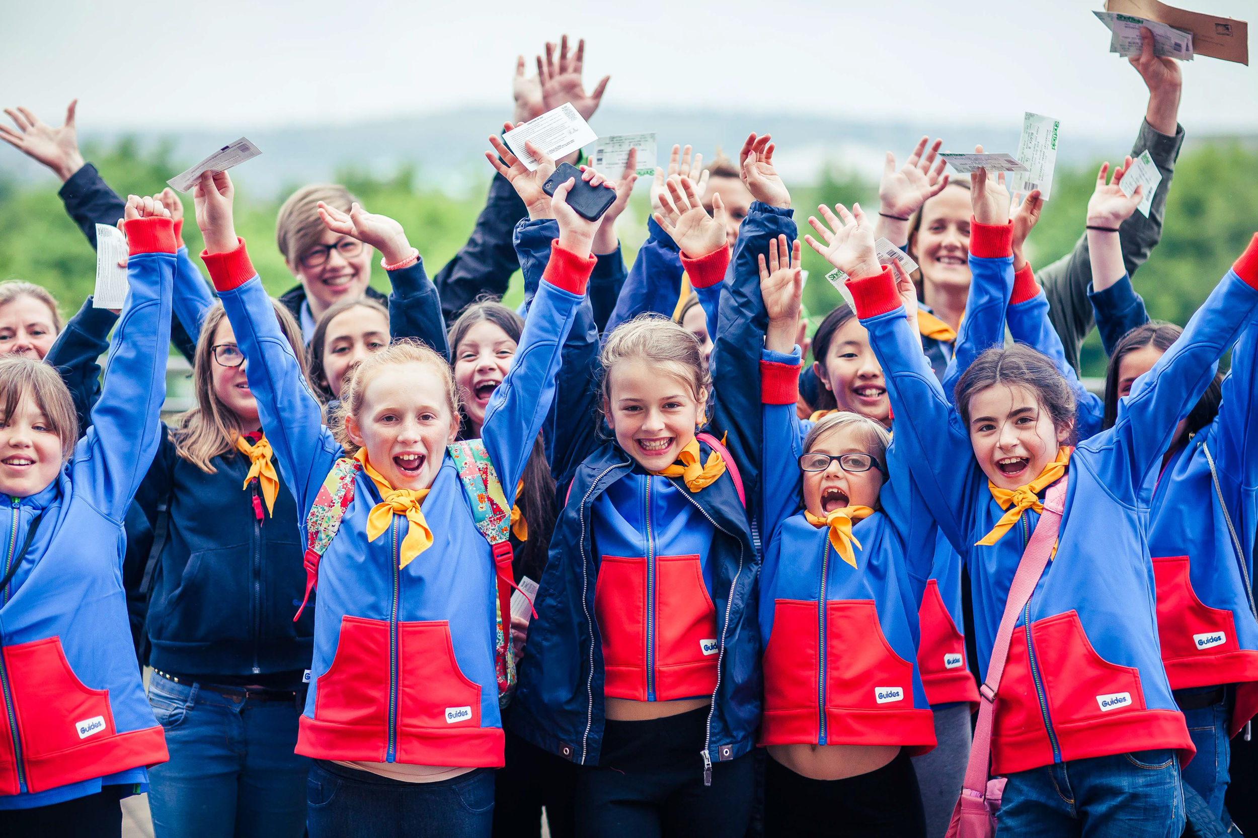 Girlguiding reveals popularity of new digital skills badges for girls
