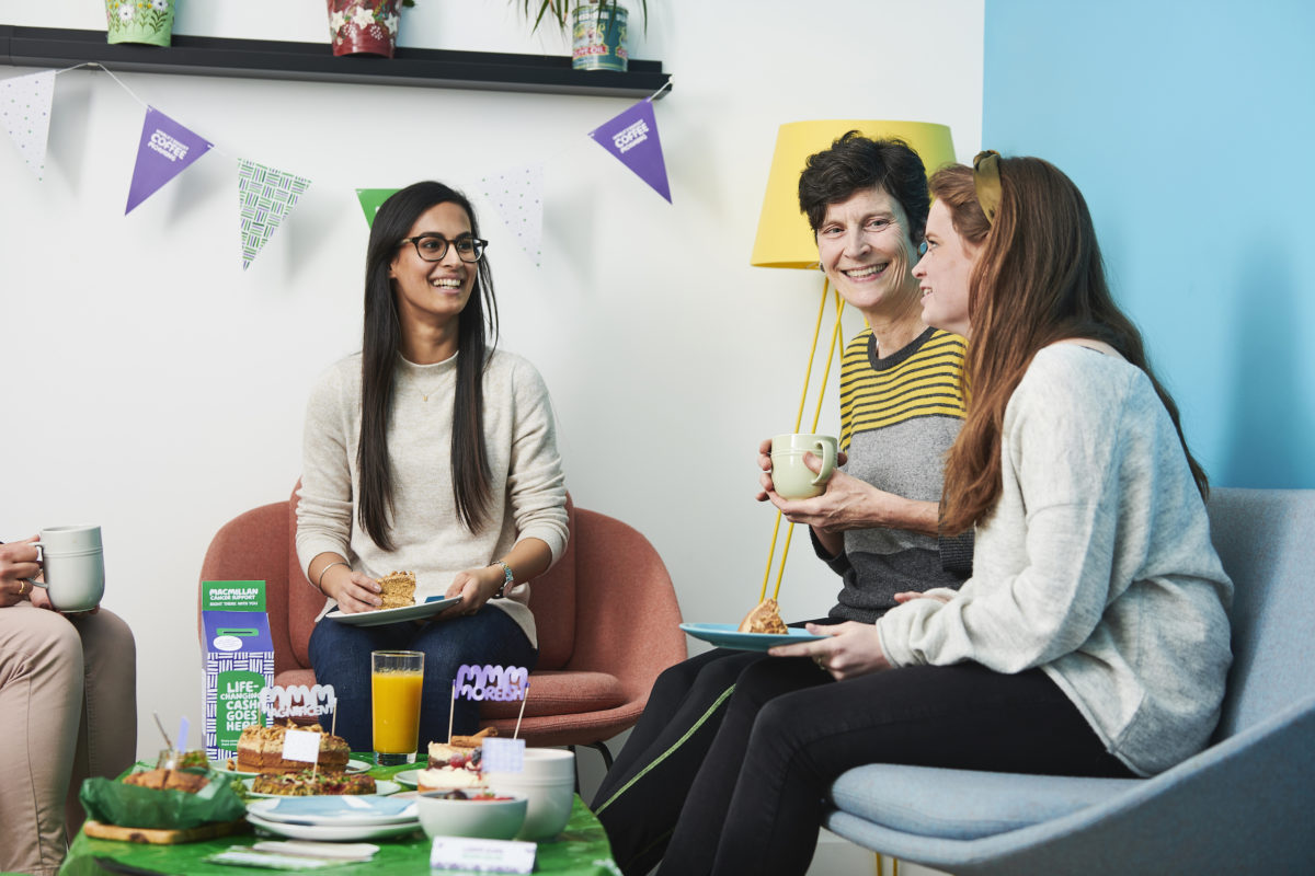 How Macmillan is using artificial intelligence for coffee morning event