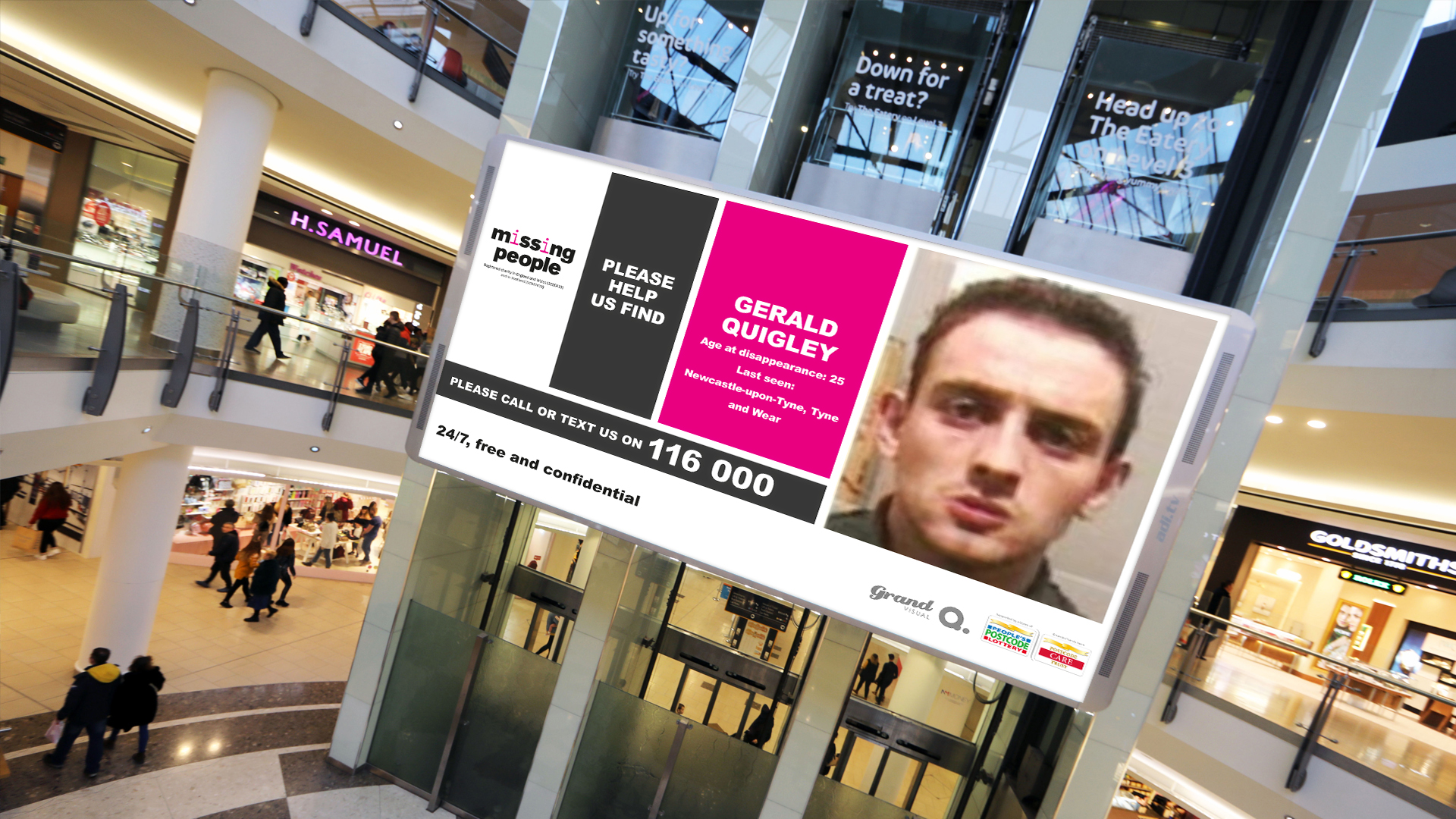 How Missing People is using digital outdoor advertising