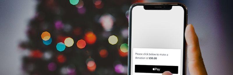 Big Give Christmas Challenge adds Apple Pay