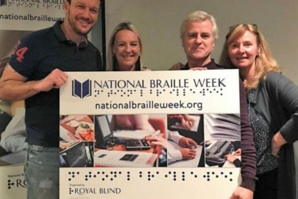 Charity provides online support ahead of National Braille Week