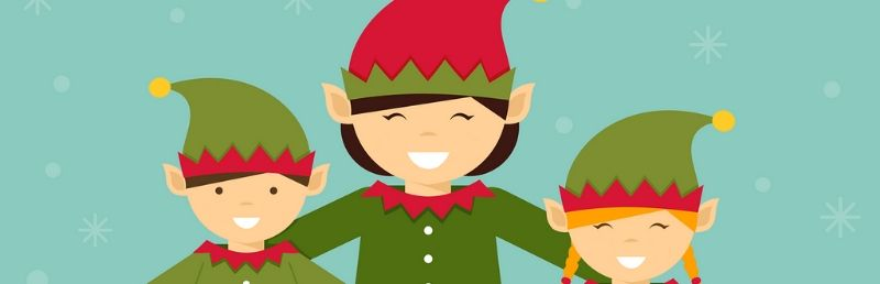 Artificial intelligence elves choose children's charity presents