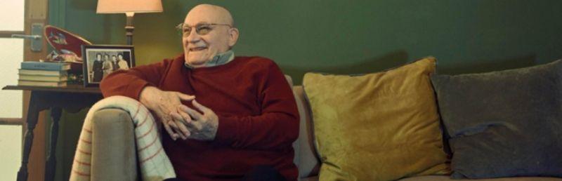 Age UK 'befriender' becomes media star