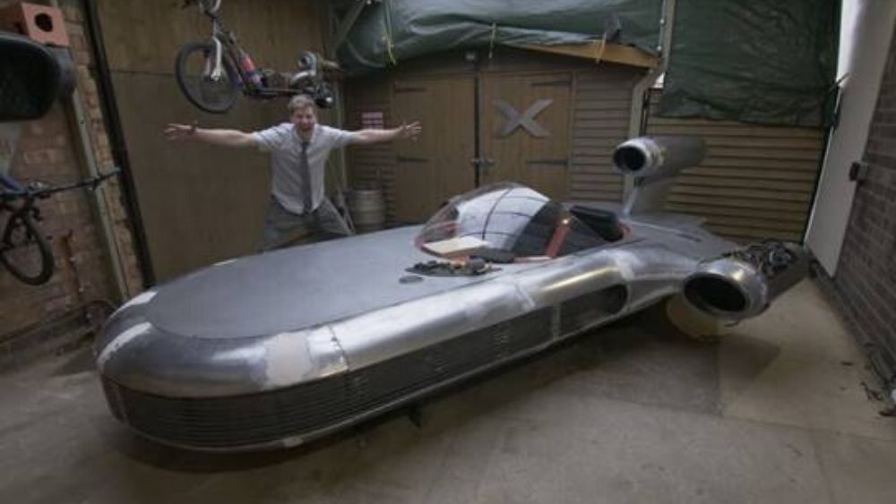 Charity Digital Topics Star Wars Landspeeder Charity Auction Attracts 50 000 Ebay Bid So Far
