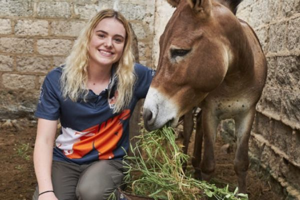Youtuber links up with charity to promote animal welfare