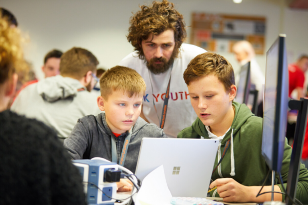 Technology firm offers young people coding and digital skills mentoring