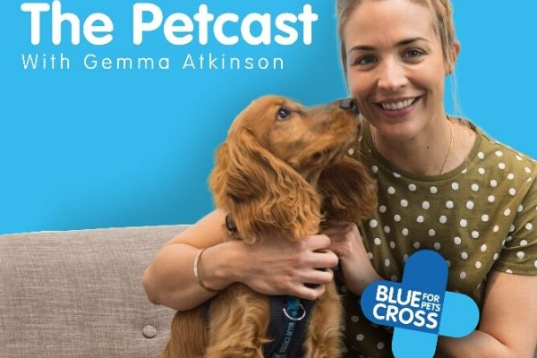 Blue Cross podcast features celebrity pet owners