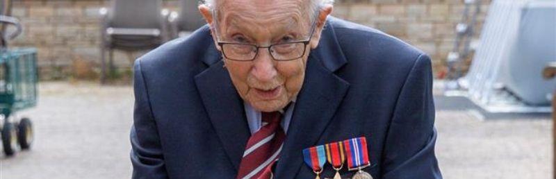 Social media publicity helps 99-year old war veteran raise £12m