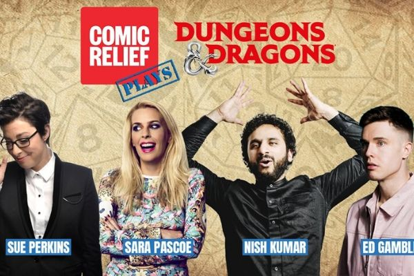 Comic Relief stages Dungeons & Dragons live stream fundraiser
