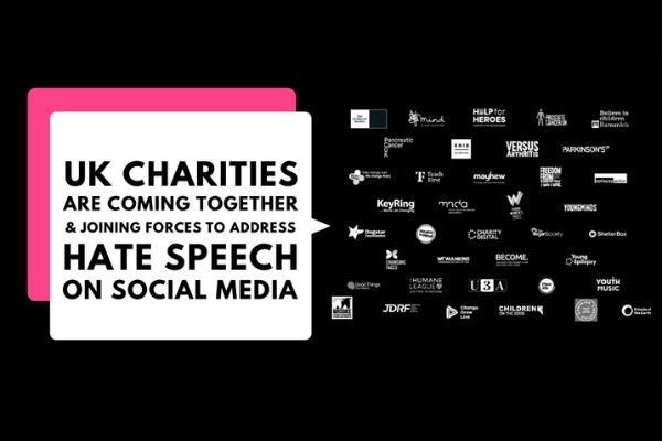 UK charities come together to address hate speech on social media