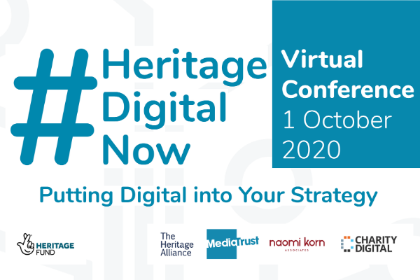 #HeritageDigitalNow: Putting the Digital into your Strategy