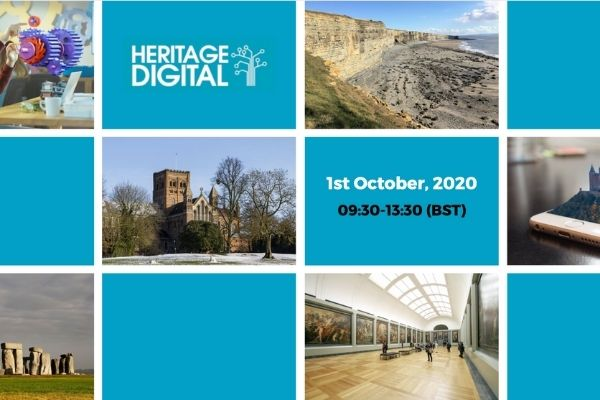 Sign up for #HeritageDigitalNow: Our free virtual event for the heritage sector