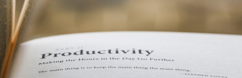 Digital resources to increase productivity