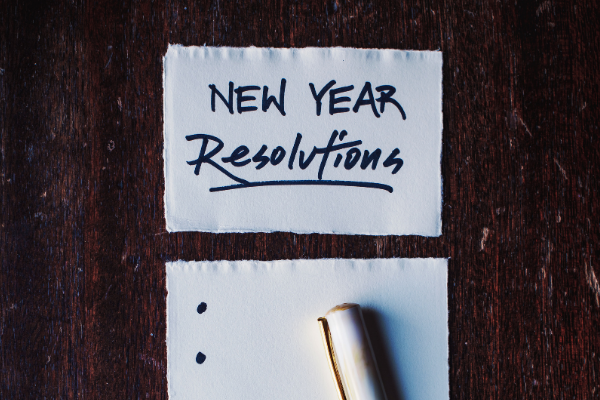 Digital new year's resolutions for 2021