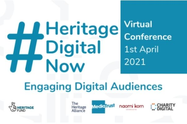 Sign Up for #HeritageDigitalNow - Engaging Digital Audiences