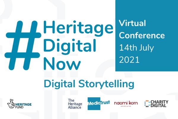 Sign Up for #HeritageDigitalNow - Digital Storytelling