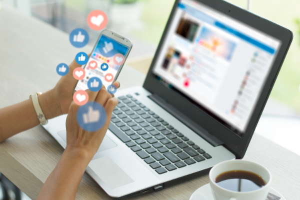 Positive news: comms and social media